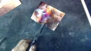 getlinkyoutube.com-Flame Coloring Copper