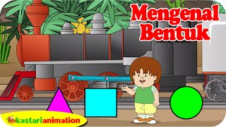 getlinkyoutube.com-Mengenal Bentuk bersama ella ello | Kastari Animation Official