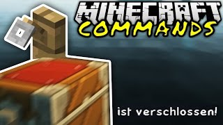 getlinkyoutube.com-KISTEN ABSCHLIEßEN IN VANILLA! | Minecraft Commands #10 | ConCrafter