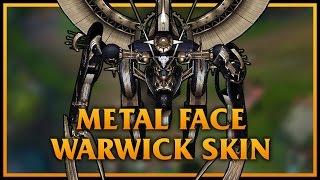 狼人自製造型-XENOBLADE的Matel Face