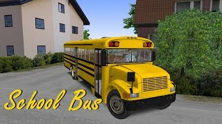 getlinkyoutube.com-OMSI 2 - School Bus - Addon Vienna