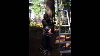 getlinkyoutube.com-Ice bucket challenge tied to tree