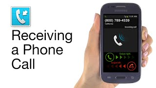 getlinkyoutube.com-Receiving a Call on Jitterbug Touch