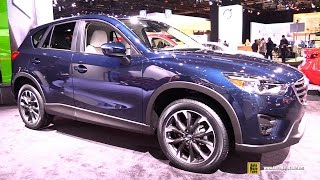 getlinkyoutube.com-2016 Mazda CX-5 Grand Touring AWD - Exterior and Interior Walkaround - 2015 Detroit Auto Show