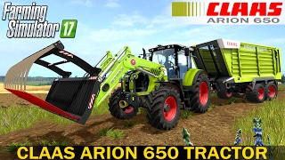 getlinkyoutube.com-Farming Simulator 17 CLAAS ARION 650 TRACTOR
