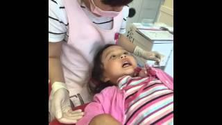 らなせいな♡RASE JAPAN♡初めての歯医者は練習のみ