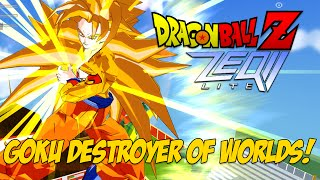 getlinkyoutube.com-GOKU DESTROYER OF WORLDS!!! | Dragon Ball Z ZEQ2 Revolution Gold Edition