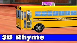 getlinkyoutube.com-Wheels On The Bus Go Round And Round ☜♥☞ Nusery Rhyme ☜♥☞ Wheels On The Bus Song