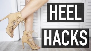 getlinkyoutube.com-Heel Hacks Every Woman Should Know || JD STYLES