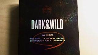 getlinkyoutube.com-Revision/Unboxing en español #1 BTS Primer Album Dark&Wild Kpop Unboxing
