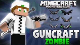 getlinkyoutube.com-GunCraft Zombie | Armas e Itens Zumbi | Minecraft PE 0.12.1 [Mod]