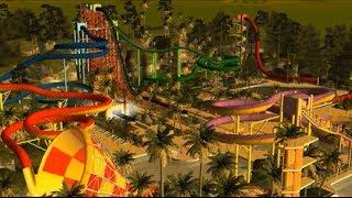 getlinkyoutube.com-Rollercoaster Tycoon 3: Extreme Water Park (HD) Best Park on YouTube!