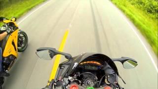 getlinkyoutube.com-bmw s1000rr vs Honda cbr 1000rr vs kawasaki zx10r