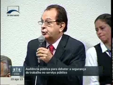 Pres. Anest pede explicação ao Executivo sobre índice de acidentados no serviço público(19/08)