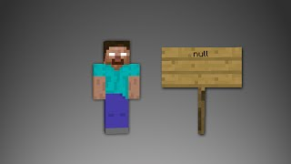 getlinkyoutube.com-Minecraft - Scary Herobrine and Null sightings!!!