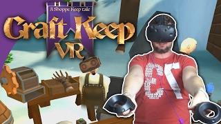 getlinkyoutube.com-EN BUTIK I VR! - Craft Keep VR | HTC Vive | Dansk VR