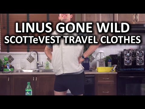 SCOTTeVEST Travel Clothes - Is that a calculator i…