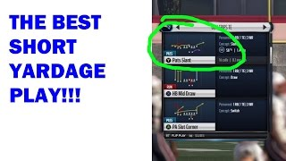 getlinkyoutube.com-THE BEST SHORT YARDAGE PLAY! MONEY PLAY FOR COUPLE OF YARDS! Madden 16 Offensive Tips