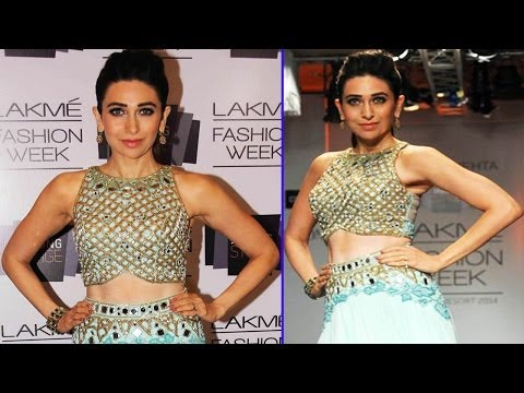 LFW Day 4 | Karishma Kapoor In Ghagra Choli Walk On Ramp