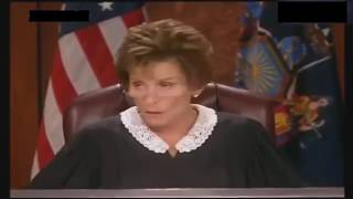 Angry Man Flips Out On Judge Judy width=