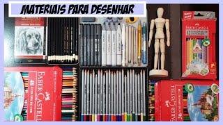 getlinkyoutube.com-Materiais para Desenho. Video especial 100.000 inscritos (Drawing Materials)