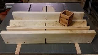 getlinkyoutube.com-Home made Spline Jig for re enforcing corners or for a decorative touch