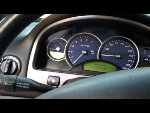 Где находится в Pontiac GTO аккумулятор