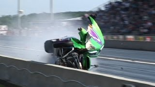 13 INSANE DRAG RACING CRASHES!!!