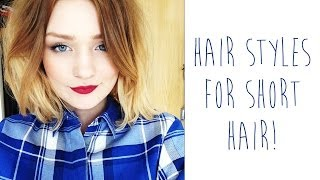 getlinkyoutube.com-Hair styles for SHORT HAIR | tinytwisst