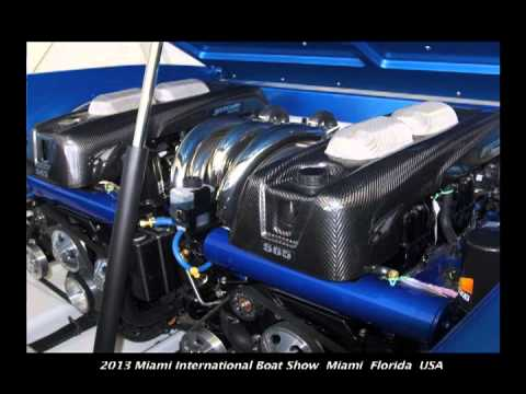 Poker Runs America - 2013 Miami International Boat Show - Hustler Powerboats