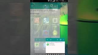 getlinkyoutube.com-Como poner whatsapp transparente de verdad