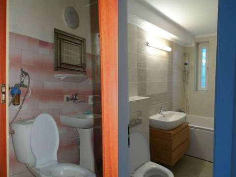 Amenajari interioare imagini Baie mica renovata,renovat baie apartament
