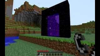 Como Hacer Un Portal Al Nether- Minecraft 1.7.10