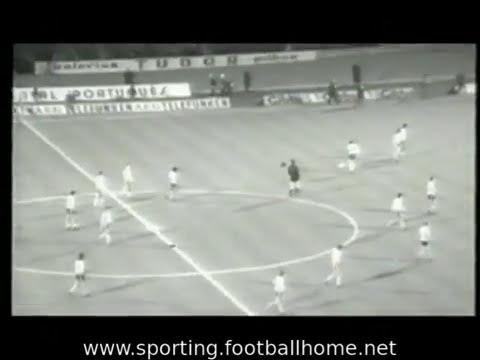 Sporting - 3 Zurich - 0 de 1973/1974 Taça Taças