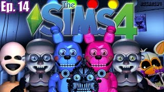 getlinkyoutube.com-NEW Teens & TODDLERS!! - The Sims 4: Five Nights at Freddy's: Sister Location - Ep 14 (Create A Sim)
