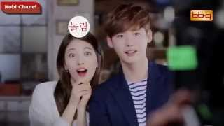 getlinkyoutube.com-Lee Jong Suk And Suzy Behind Scene Funny Moment 2015