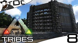 getlinkyoutube.com-ARK SURVIVAL EVOLVED   BASE BUILDING THE OCTAGON!   Episode 8 (Gameplay Pooping Evolved Server)