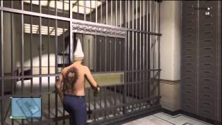 getlinkyoutube.com-GTA5 ONLINE Cambriolage du coffre fort de la banque