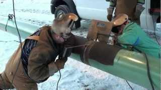 getlinkyoutube.com-Pipeline Welding  -  A Day On The Hot Pass