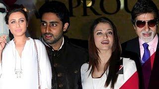 getlinkyoutube.com-Rani Mukherji SKIPS Family Function To RESOLVE Issues With Bachchans? | Bollywood News
