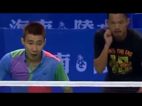LIN Dan/LEE Chong Wei vs CAI Yun/FU Haifeng