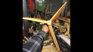 getlinkyoutube.com-HOW TO MAKE WHIRLIGIG or model wind generator PROPELLERS