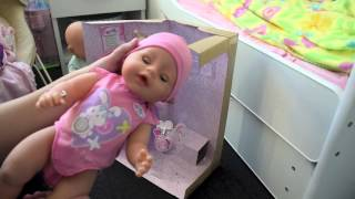 Baby Born Girl Unboxing! Zapf Creations