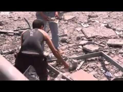 Gaza man mosque bombing Israel