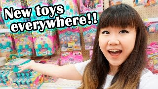 getlinkyoutube.com-TOY HUNTING - So many new toys EVERYWHERE!!!