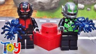 getlinkyoutube.com-lele 레고 앤트맨 1대 행크 핌 중국 짝퉁 미니피규어 Lego Ant-man HANK PYM minifigure