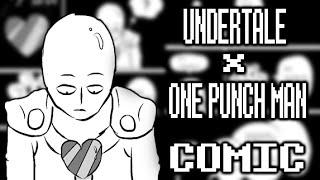 getlinkyoutube.com-OPM x Undertale | Saitama Meets The Underground【Fanart Comic】Sub. Esp.
