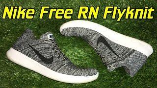 getlinkyoutube.com-Nike Free RN Flyknit 2016 - Review + On Feet
