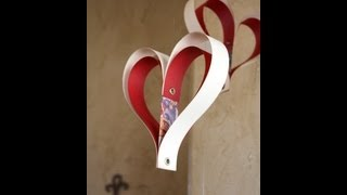 getlinkyoutube.com-Paper heart decoration