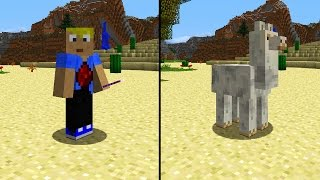getlinkyoutube.com-Spieler in Lama verwandeln! Minecraft Adventskalender #02